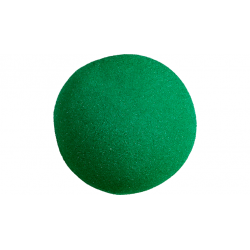 Balle Mousse 10 cm Verte Super Soft wwww.magiedirecte.com