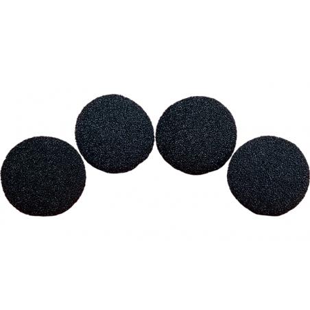 Balles Mousse 7.5 cm Noire Super Soft wwww.magiedirecte.com