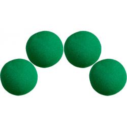 Balles Mousse 7.5 cm Verte Super Soft wwww.magiedirecte.com