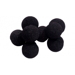Balle Mousse 2cm Mini Noire Soft wwww.magiedirecte.com