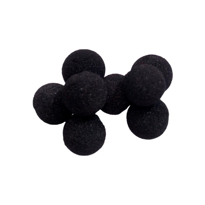 Balle Mousse 2cm Mini Noire Soft wwww.magiedirecte.com