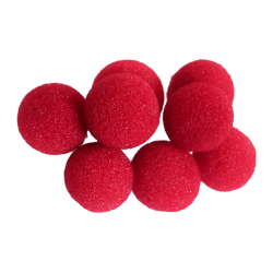 Balle Mousse 2cm Mini Rouge Soft wwww.magiedirecte.com