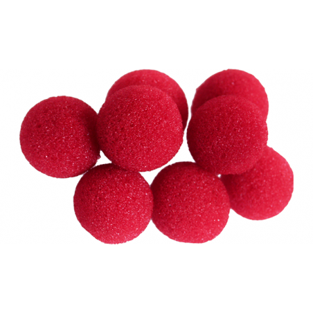 Balle Mousse 2cm Mini Rouge Soft wwww.magiedirecte.com