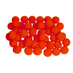 Balles Mousse 5 cm Rouge Super Soft - Pack de 50 wwww.magiedirecte.com