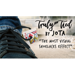 Truly Tied WHITE (Gimmick and Online Instructions) by JOTA - Trick wwww.magiedirecte.com