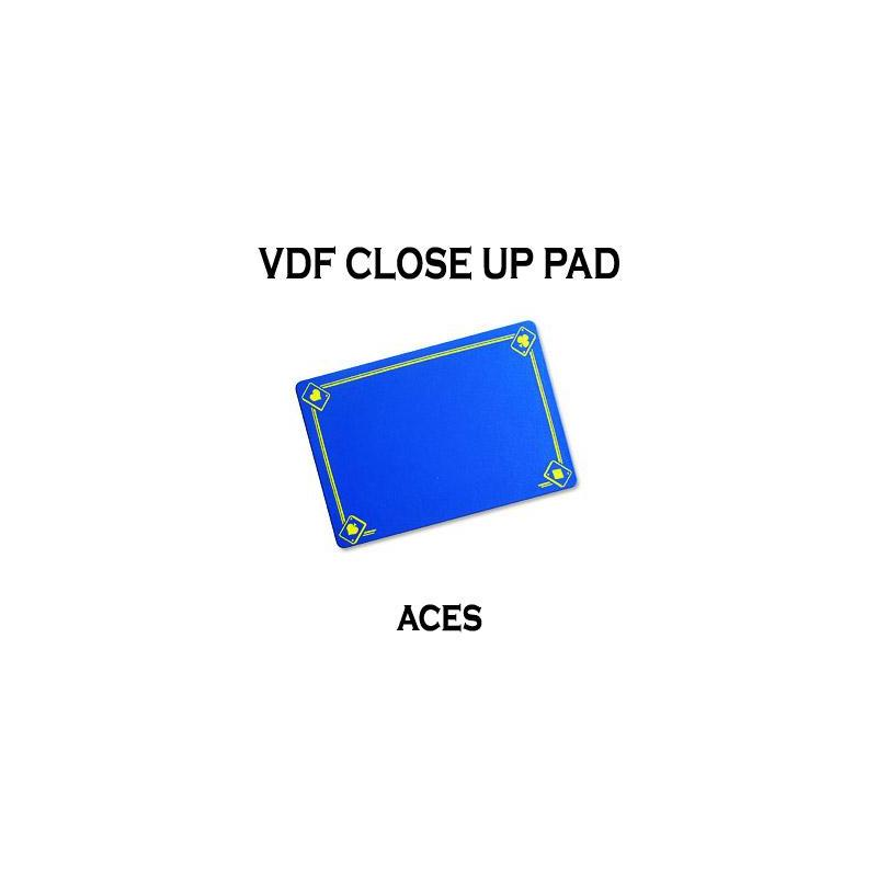 Tapis de Close Up 40X27 PRO VDF avec As - Medium - (Bleu) wwww.magiedirecte.com