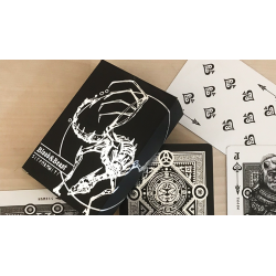 Blood and Beast (Silver) Playing Cards wwww.magiedirecte.com