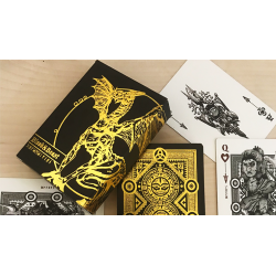 Blood and Beast (Gold-Gilded) Playing Cards wwww.magiedirecte.com