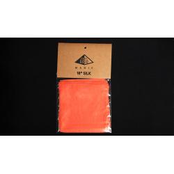 Foulard 45 cm Soie Orange - Pyramid Gold Magic wwww.magiedirecte.com