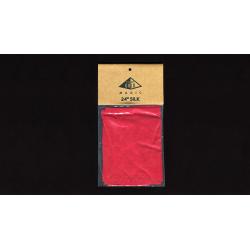 Foulard 60 cm Soie Rouge Vif - Pyramid Gold Magic wwww.magiedirecte.com