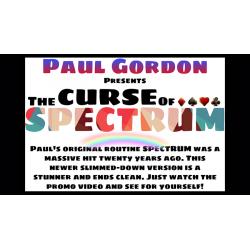 The CURSE of SPECTRUM - Paul Gordon wwww.magiedirecte.com
