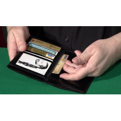 Dominique Duvivier Presents: Duvivier Wallet (Gimmick and Online Instructions) - Trick wwww.magiedirecte.com