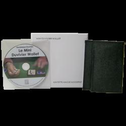 The Mini Duvivier Wallet (With DVD) by Mayette Magie Moderne -Trick wwww.magiedirecte.com
