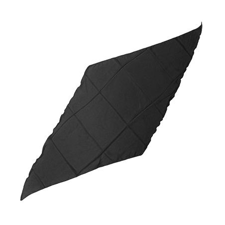 Foulard Diamant Soie 90cm (Noir) - Magic by Gosh wwww.magiedirecte.com