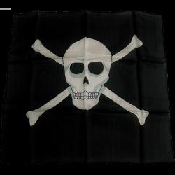 FOULARD TETE DE MORT (45cmX45cm) Noir - Magic By Gosh wwww.magiedirecte.com