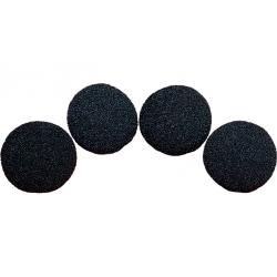 Balle Mousse 4cm Noire Super Soft wwww.magiedirecte.com