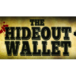 Alakazam Presents Hideout V2 Wallet (DVD and Gimmick) by Outlaw Effects - Trick wwww.magiedirecte.com