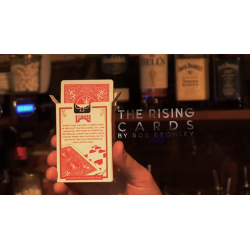 Alakazam Magic Presents The Rising Cards Red (DVD and Gimmicks) by Rob Bromley - Trick wwww.magiedirecte.com