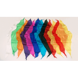 Foulard Diamant 60cm Pack 12 Couleurs Assortis - Magic by Gosh wwww.magiedirecte.com