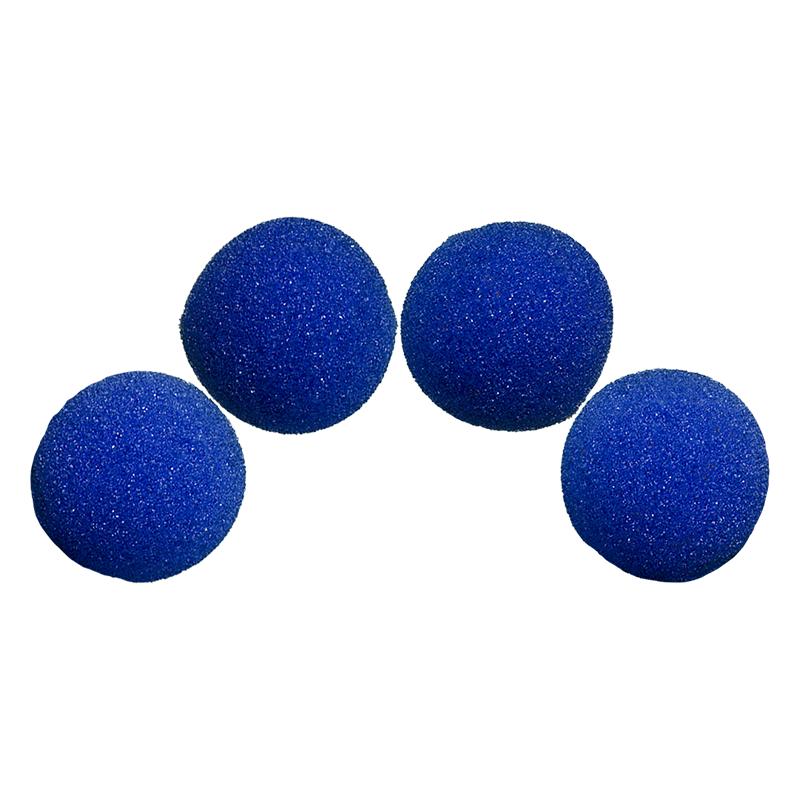 Balle Mousse 4 cm Bleue Ultra Soft wwww.magiedirecte.com