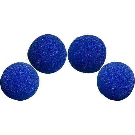 Balle Mousse 4cm Bleue Super Soft wwww.magiedirecte.com