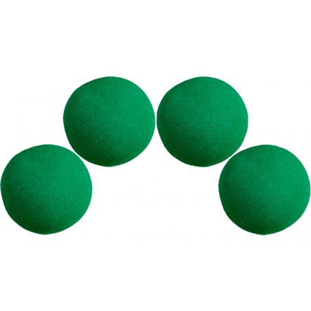 Balle Mousse 4 cm Verte Ultra Soft wwww.magiedirecte.com