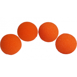 Balle Mousse 4cm Orange Super Soft wwww.magiedirecte.com
