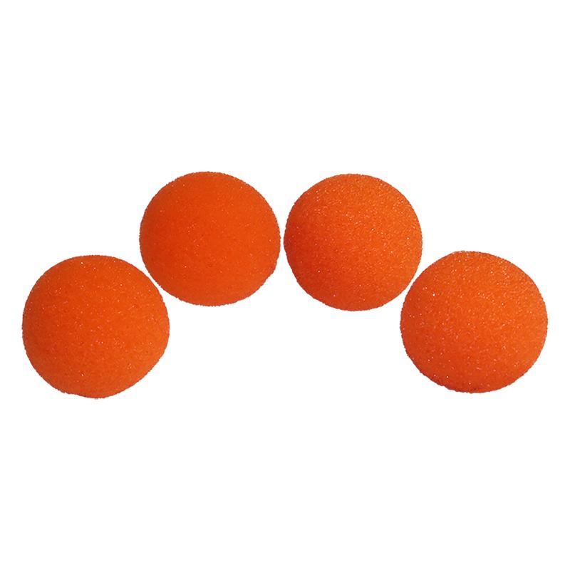 Balle Mousse 4 cm Orange Regular wwww.magiedirecte.com