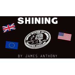 SHINING EURO - James Anthony wwww.magiedirecte.com
