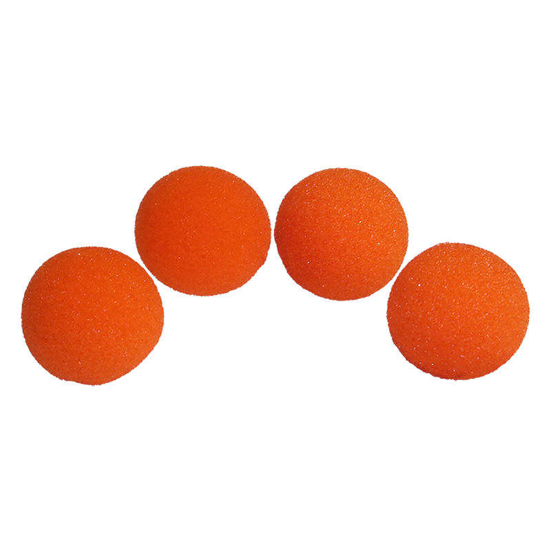 Balle Mousse 2,50 cm Orange super Soft wwww.magiedirecte.com