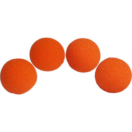 Balle Mousse 2,50 cm Orange super Soft wwww.magiedirecte.com