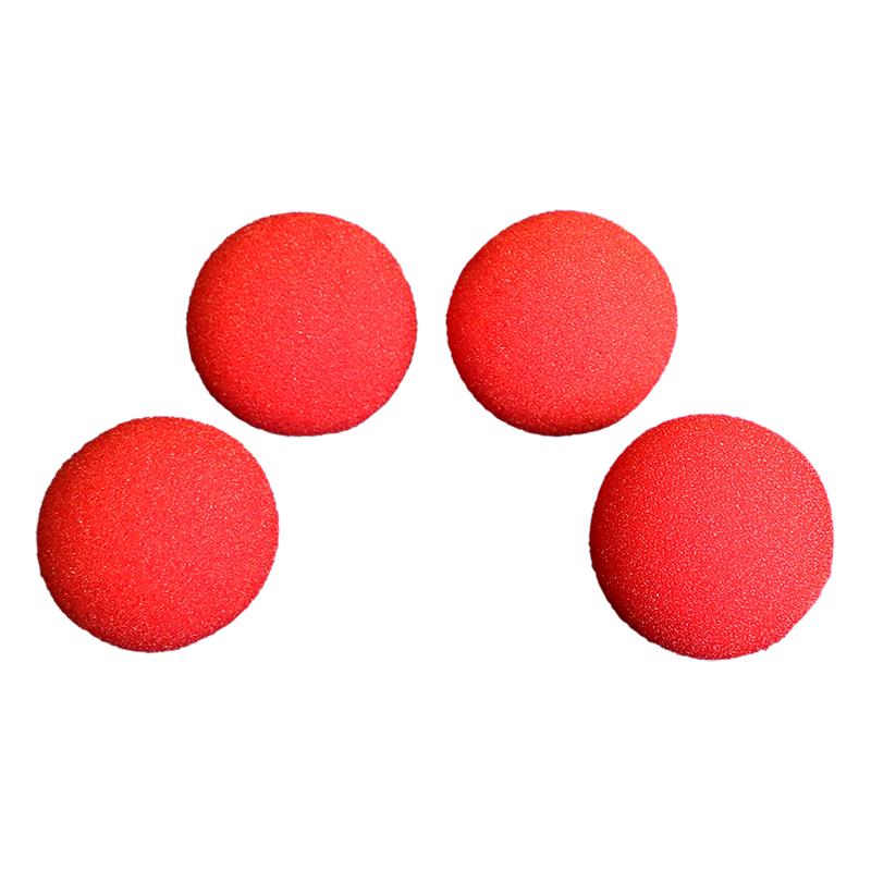 Balle Mousse 2,50 cm Rouge super Soft wwww.magiedirecte.com