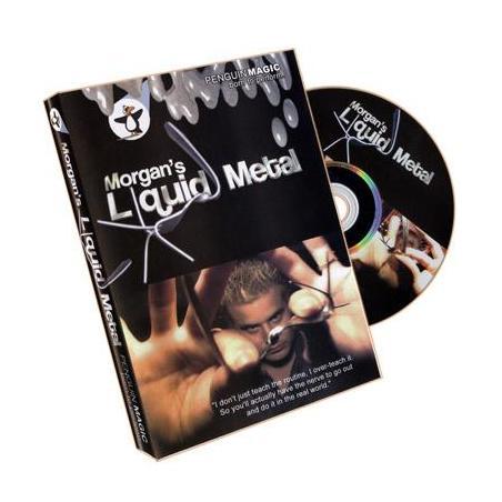 Liquid Metal by Morgan Strebler - DVD wwww.magiedirecte.com