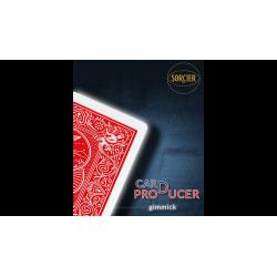 CARD PRODUCTION Gimmick Rouge - Sorcier Magic wwww.magiedirecte.com