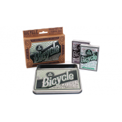 BICYCLE RETRO TIN - US Playing Card wwww.magiedirecte.com
