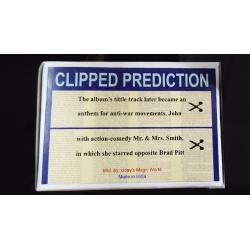 CLIPPED PREDICTION (Lennon/Brad Pit) - Uday wwww.magiedirecte.com