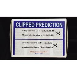 CLIPPED PREDICTION (Lotto/Golden Globe) - Uday wwww.magiedirecte.com