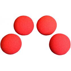 Balle Mousse 4 cm Rouge Soft wwww.magiedirecte.com