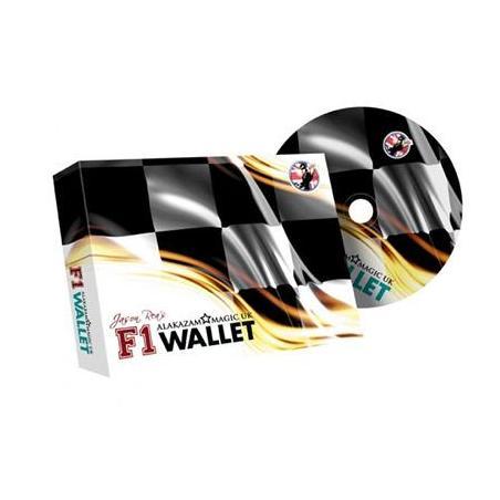 F1 Wallet (Rouge) - Jason Rea and Alakazam wwww.magiedirecte.com