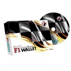 F1 Wallet (Blue) by Jason Rea and Alakazam - DVD wwww.magiedirecte.com