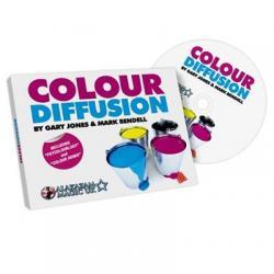 Color Diffusion - Gary Jones and Alakazam wwww.magiedirecte.com