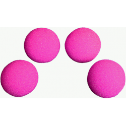 Balle Mousse 4 cm Rose HD Ultra Soft wwww.magiedirecte.com