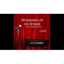 STANDING UP ON STAGE Vol 7 CARDS - Scott Alexander wwww.magiedirecte.com