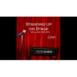 Standing Up On Stage Volume 7 CARDS  by Scott Alexander - DVD wwww.magiedirecte.com
