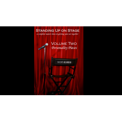 Standing Up on Stage Volume 2 Personality Pieces by Scott Alexander - DVD wwww.magiedirecte.com