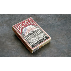 Bicycle US Presidents (Red Collector Edition) by Collectable Playing Cards wwww.magiedirecte.com