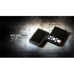 NOC Out: Black Playing Cards wwww.magiedirecte.com