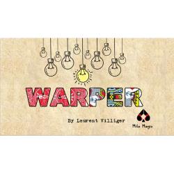 WARPER BLEU - Laurent Villiger wwww.magiedirecte.com