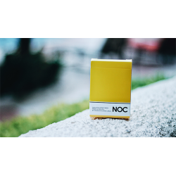 NOC Original Deck (Yellow) Printed at USPCC by The Blue Crown wwww.magiedirecte.com