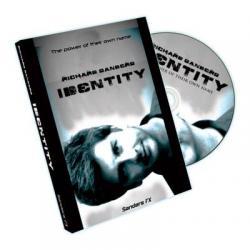 Identity (With Gimmicks) by Richard Sanders - DVD wwww.magiedirecte.com